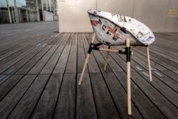 """Dans la rubrique """"créativité"""" : une chaise en papier ! (recherche prod"""
